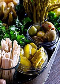 Olives Pickles Antipasti